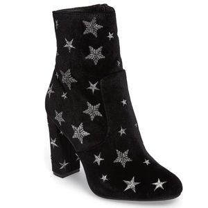 Steve Madden Suede Star Embroidered Edit Boots